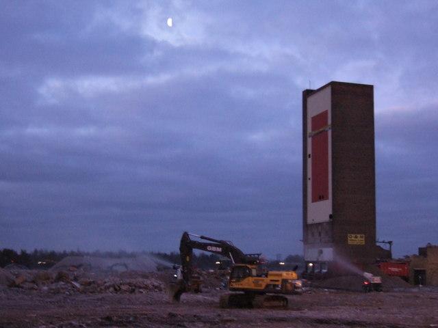 Campbell's Tower, King's Lynn - The final dawn