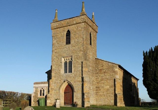 St Thomas' church, Legsby