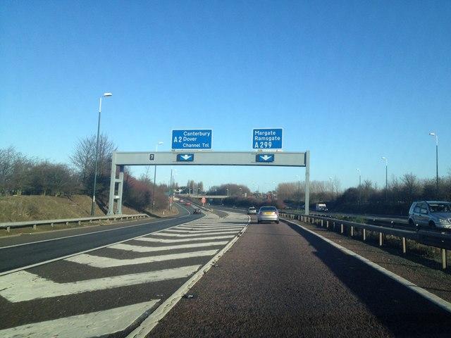 M2, junction 7