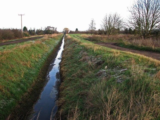 Commissioners' Drain near Bank Farm