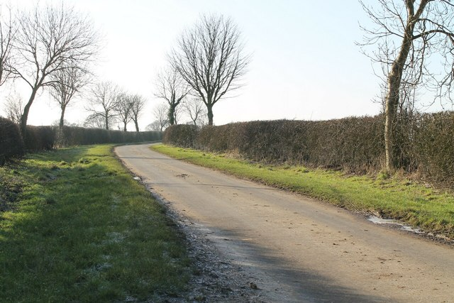 Lane to Sixhills from Ludford