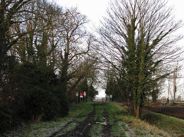 Farm Crossing near The Willows
