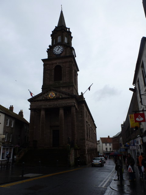 Berwick-upon-Tweed: the Town Hall