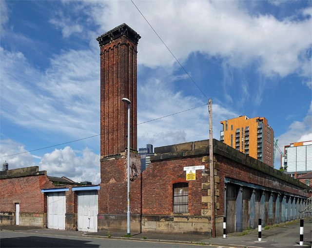 Former police and fire station, Goulden Street, Manchester
