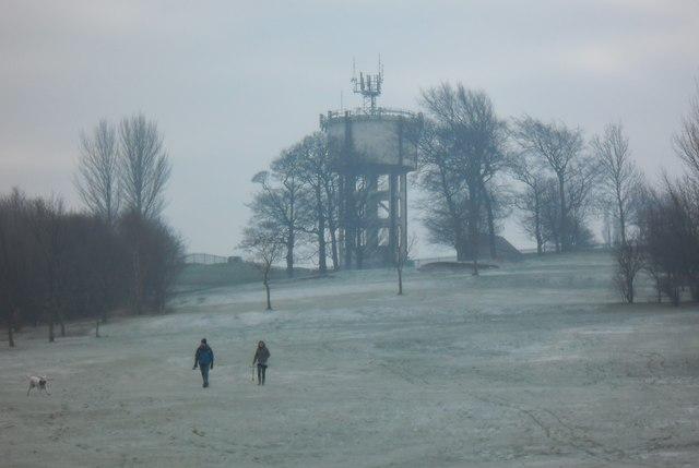 Pontefract Racecourse  Water Tower