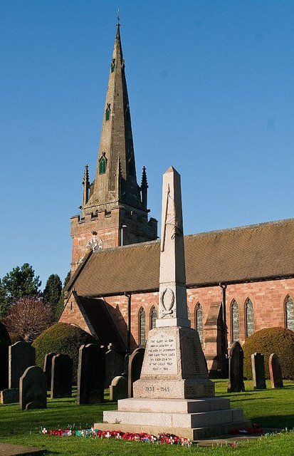 War Memorial & St Benedicts Church