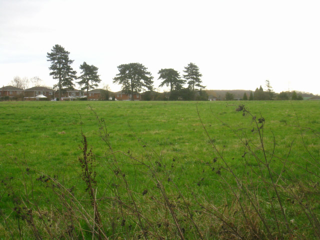 Back view of Barn Lane housing