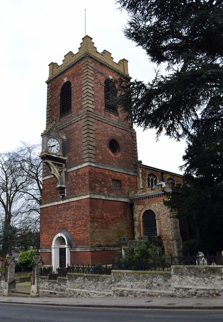 St Peter's church, Colchester, Essex