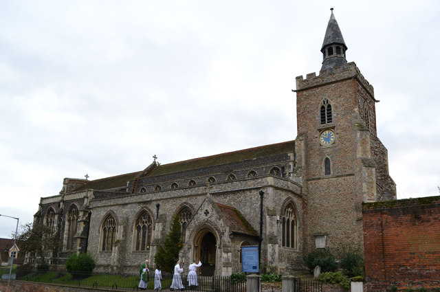 St James the Great church, Colchester, Essex