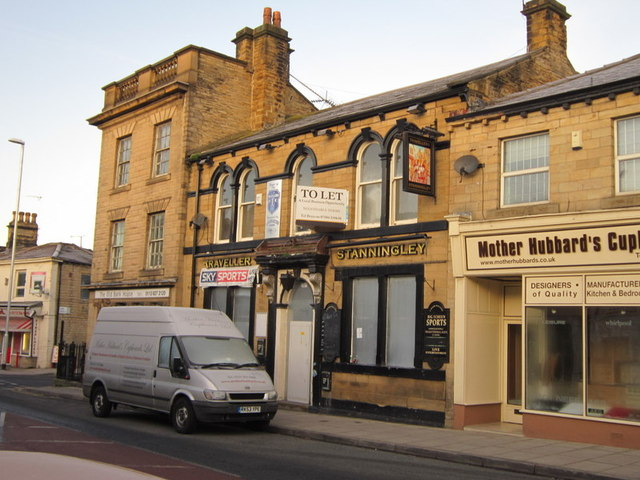 The Travellers Stanningley on High Street, Stanningley