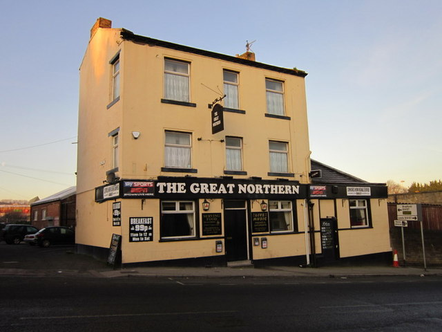 The Great Northern on Richardshaw Lane