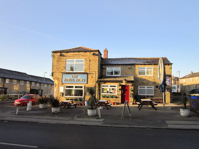 The Kings Arms on Greenside, Pudsey