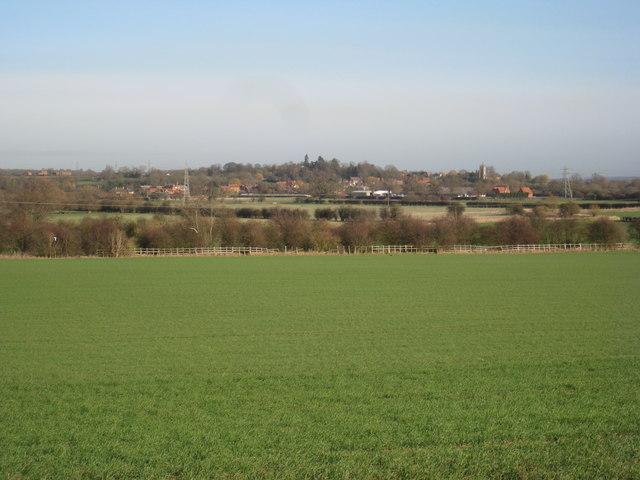 View towards Upton