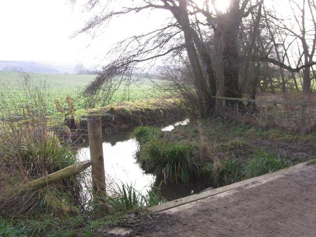 Bridge over the Beesmoor Brook