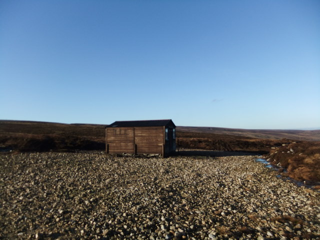 Shooting hut near Mardy's Cleugh