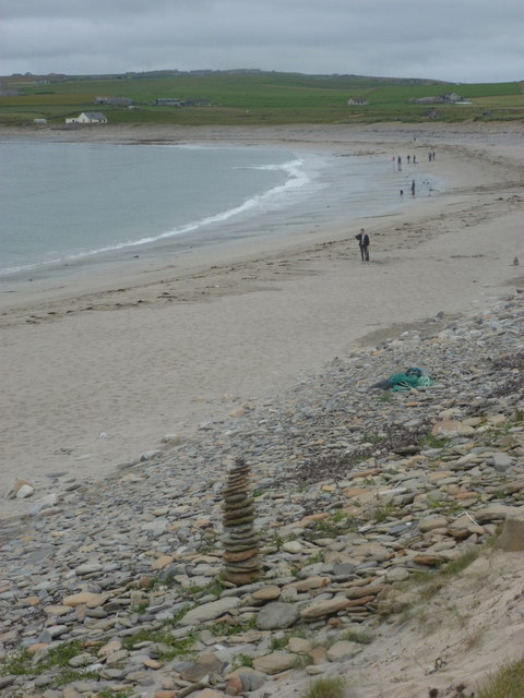Skara Brae: Bay of Skaill beach