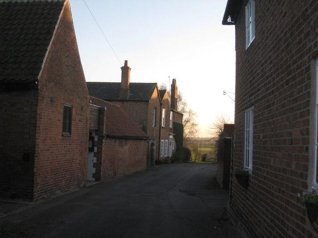 Church Lane, Upton