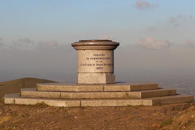 The toposcope atop Worcestershire Beacon
