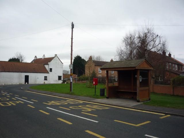 Bus stop in Kelfield