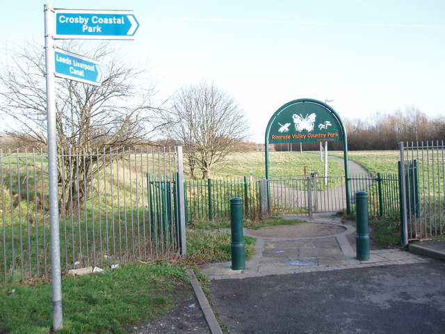 Entrance to Rimrose Valley Country Park