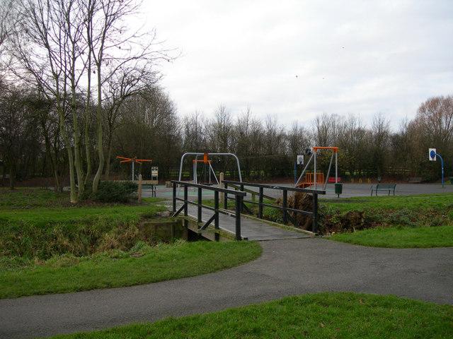 Children's Play Area, Peel Hall Park