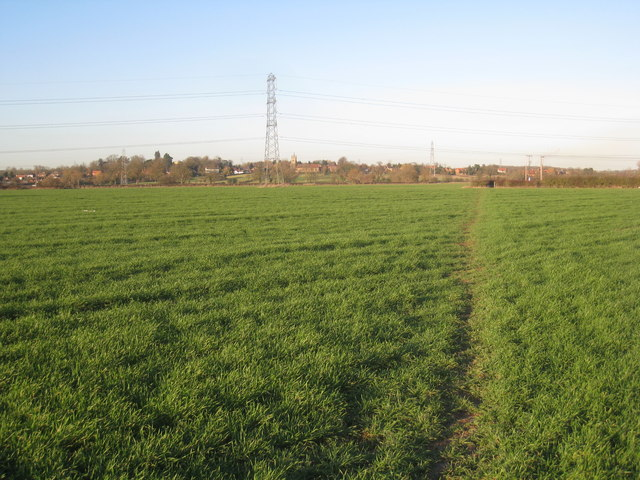 Footpath to Carr Lane