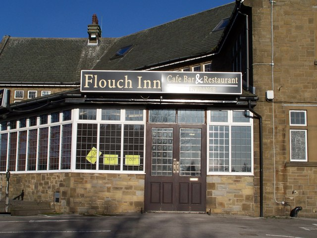 Police Keep Out at The Flouch Inn, Whamms Road, Hazlehead, near Sheffield