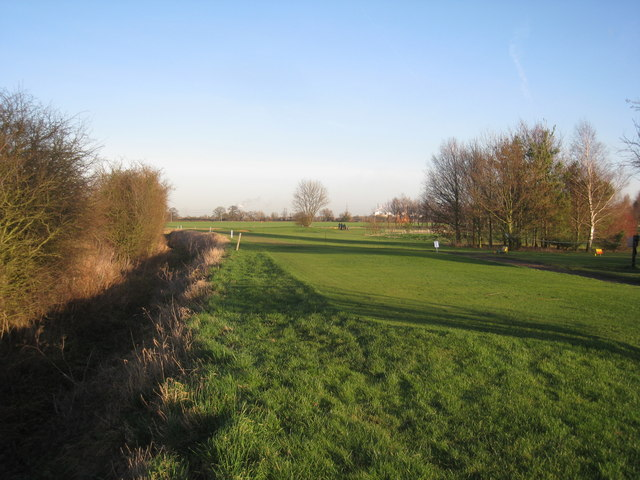 Part of Southwell Golf Course