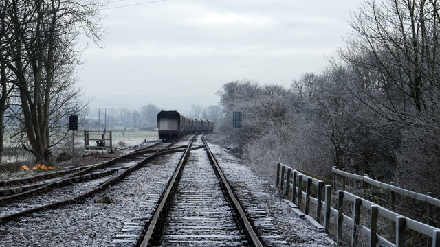 Railway east of Wolsingham