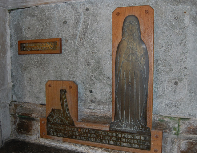 Oxenbridge Tomb, St George's church, Brede