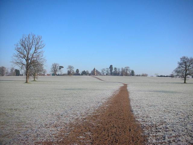 Footpath to Old Milverton Church