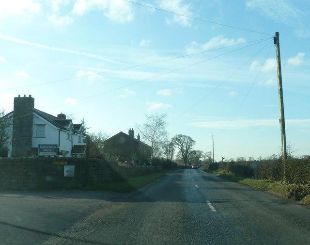 Longmoor Lane near Gibson's Farm