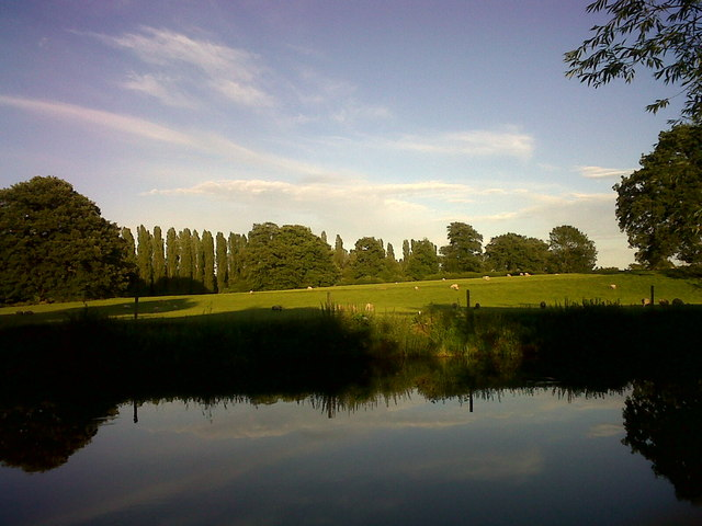 River Avon near Jephson's Farm