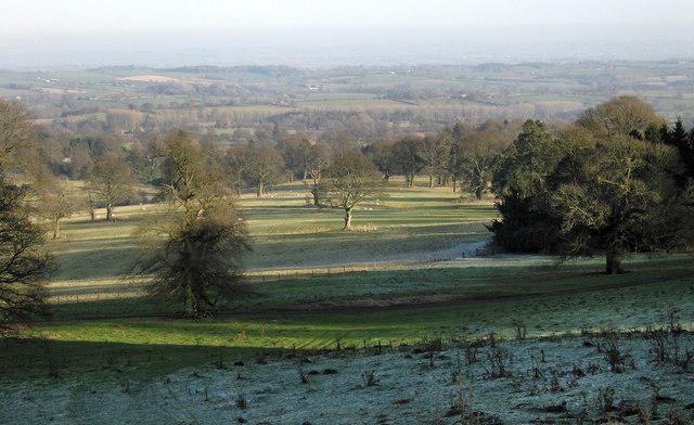 Part of Burwarton Park