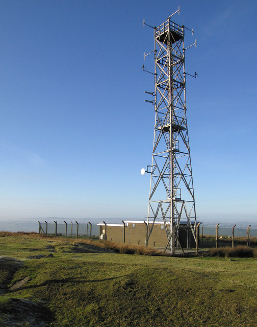 Relay station on Clee Burf