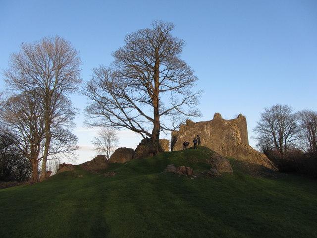 St. Quentin's Castle, Llanblethian