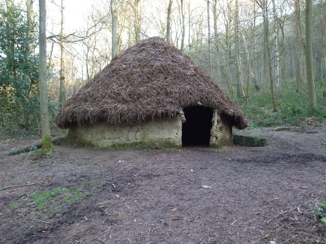 Roundhouse in Raincliffe Woods
