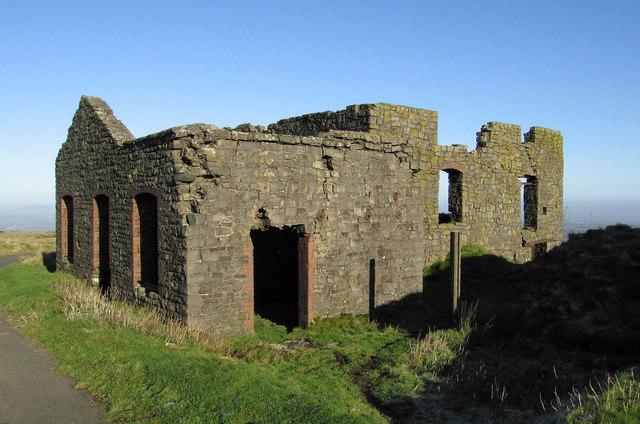 Stone crushing plant (ruins)