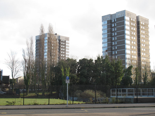 Towerblocks in Erith