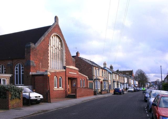Methodist Church, Lime Walk, Headington