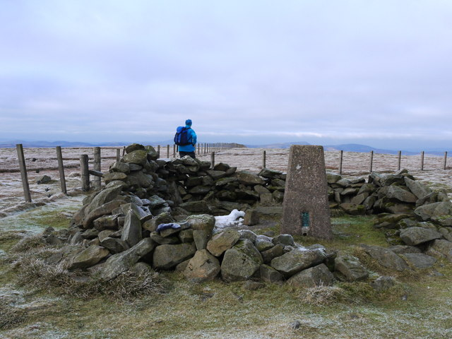 The trig on Hart Fell