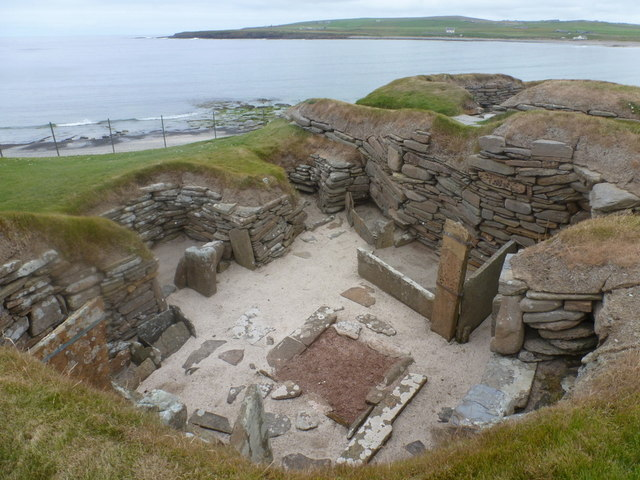 Skara Brae: one of the houses