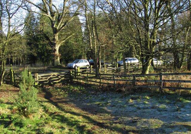 Start of the path for Brown Clee Hill