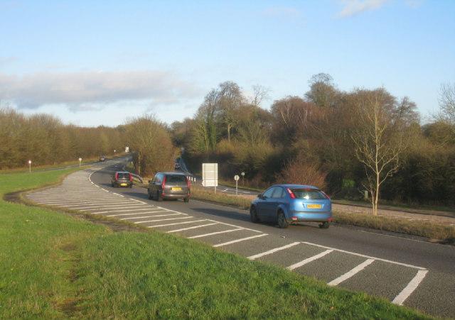 Heading into Basingstoke (A30)