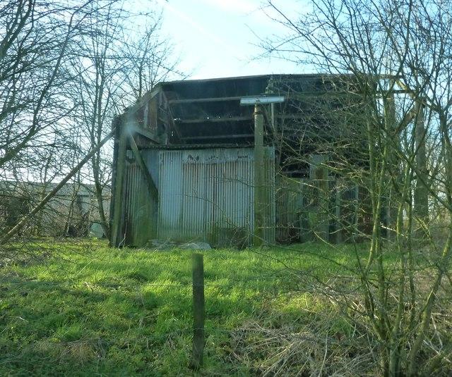 Old farm building near Bournes