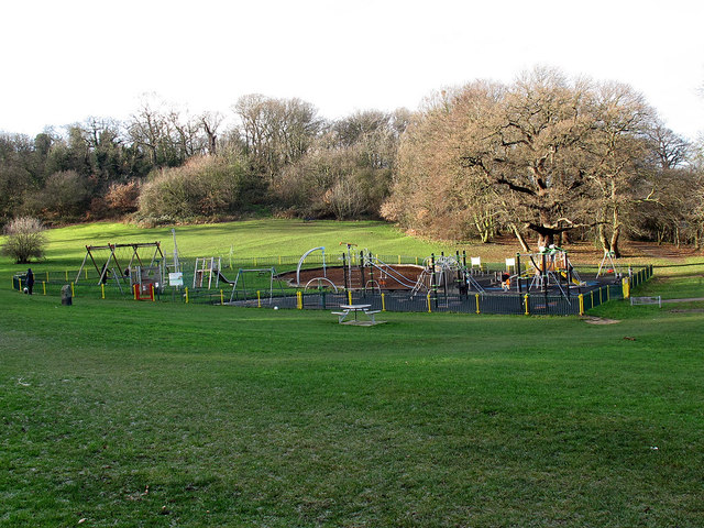 Play area in Frank's Park
