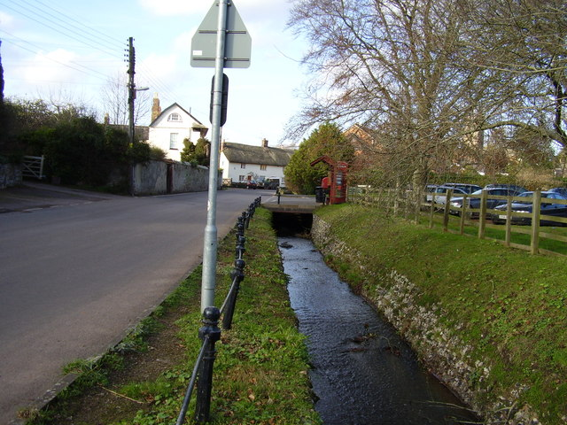 Budleigh Brook in the High Street