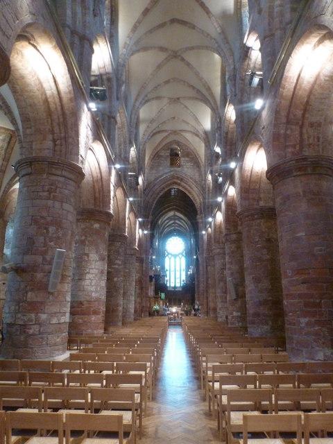 Kirkwall: cathedral interior