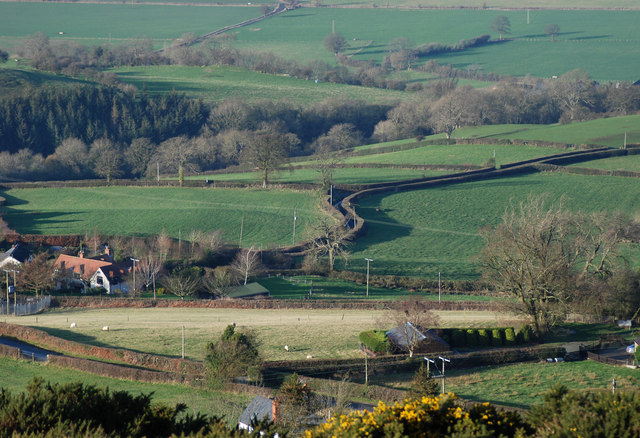 Bromlow from the top of the Callow