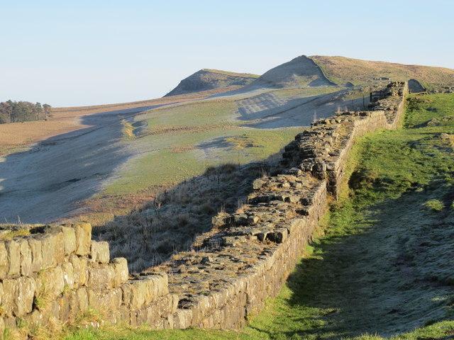 Hadrian's Wall east of Thorny Doors (2)